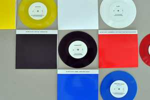 The My Wet Calvin Record Set Uses Bold Primary Colors to Seduce Consumers