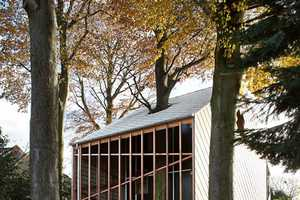 This House by De Vylder Vinck Taillieu is Natural and Human-Scaled