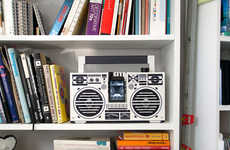 The Cardboard 'Berlin Boombox' is the Analog/Digital Hyb