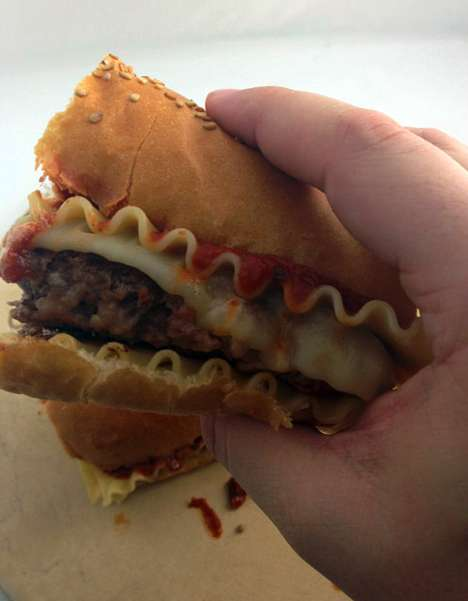 lasagna burger