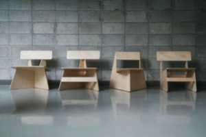 The Seungji Mun 'Four Brothers' Chairs Come From One Slice of Wood