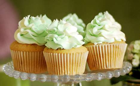 wasabi and white chocolate cupcakes