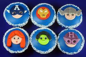These Avengers Cupcakes are the Tastiest Way to Geek Out