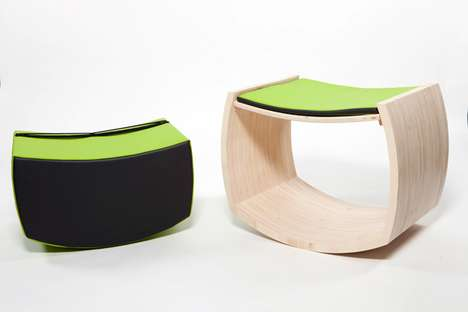 Modular Fitness Furniture - The Jopple Stool Encourages Active Healthy Lifestyles