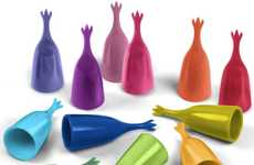 Colorful Fingertip Cutlery