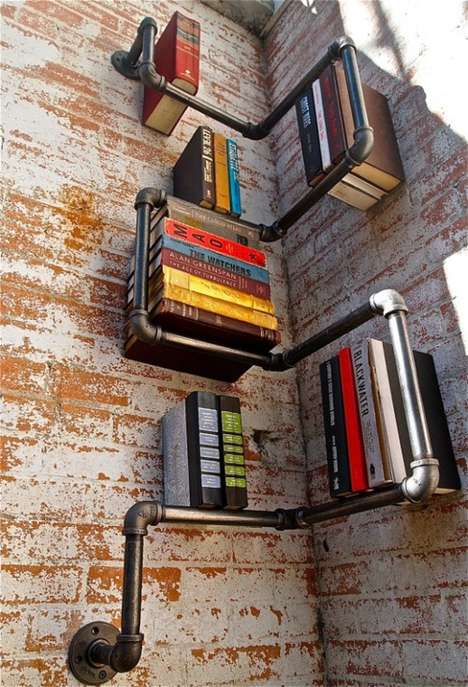 book shelf pipe