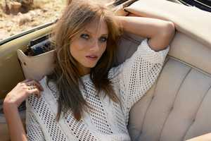 The Mango Summer 2012 Lookbook Stars a Summery Anna Selezneva