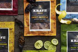 KRAVE Jerky Packaging Targets Carnivores with a Funny Bone