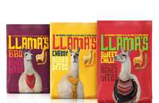 Discerning Llama Packaging - Parker Williams Crafts Side-Splitting Branding for Tesco