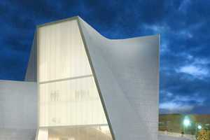 This Architecture from Steven Holl is Balanced and Elegant