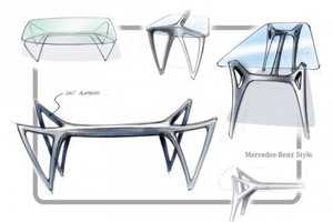The Mercedes-Benz Furniture Line is Sleek
