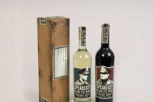 Mike L Perry Creates Identity for Speakeasy Wine