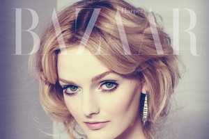 The Benjamin Kanarek Lydia Hearst Editorial for Harper's Bazaar