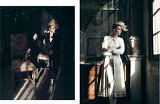 Sophisticated Punk Photoshoots - The Marie Claire Turkey May 2012 Editorial Stars Simone W