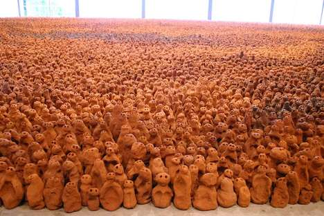 Field by Antony Gormley