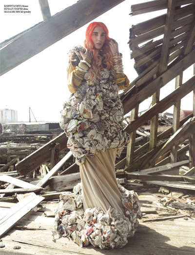 Junk-Covered Couture