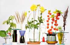 Clandestine Flower Holders - Hidden Vases by Chris Kabel Hides Vases with Creative Designs