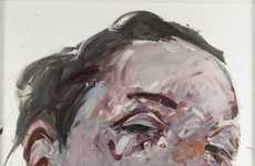 Marbly Smeared Paint Portraits