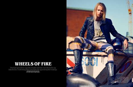 Cover Magazine Wheels of Fire