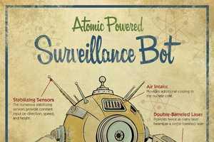 Michael Murdock Replicates Vintage Invention Illustrations