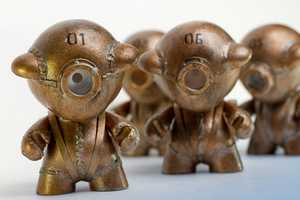 The Joseph Drust Steampunk Minions Perform Simple Tasks