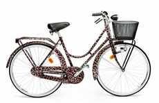 Luxury Designer Two-Wheelers - Dolce and Gabbana Releases Stylish Leopard-Print Bikes