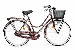 Dolce and Gabbana Releases Stylish Leopard-Print Bikes