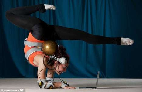 Performance-Tracking Gymnastics Gagets - The MotivePro Suit Ensures Top Condition of Gymnasts