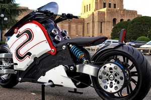 The Japanese ZecOO Custom E-bike Shows Stylistic Fusion