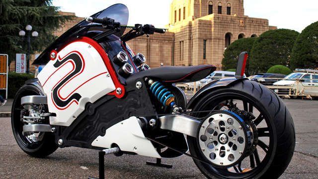 Retro-Futuristic Electronic Bikes