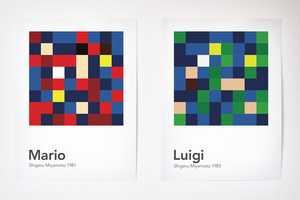 Laura Vidal Illustrates Game Characters Using Disorganized Squares