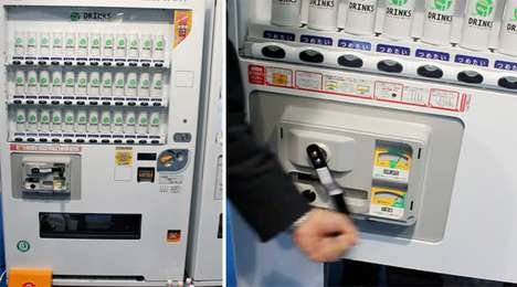hand cranked vending machine