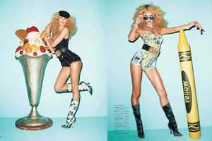 The Vogue Japan June 2012 Photoshoot Stars a Cheeky Candice Swanepoel