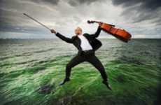 Mystifying Musical Performer Portraits