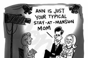 Ann Romney Presents a Cartooned Personality