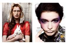 Assorted Glamor Editorials - The Elle Mexico 'Total Beauty' Photoshoot Has Eclectic Hair and Makeup
