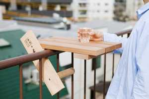 The Sky Deck Table is a Smart Alternative to Traditional Outdoor Furniture