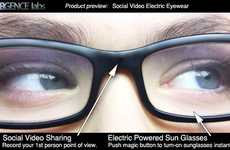 Video Recording Glasses