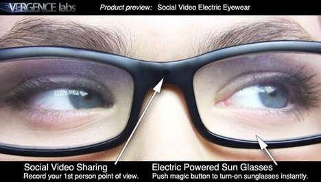 Video Recording Glasses - Vergence Labs Brings You Chic Shades That Record Multimedia