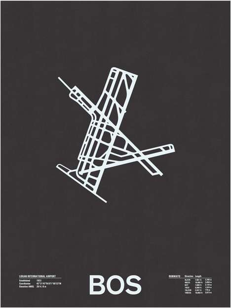 nomo airport runway screenprints