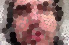 Molecular Mirror Apps - The New 'Konfetti' App Lets Users Pixelate and Manipulate Images