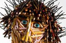 Pencil People Sculptures