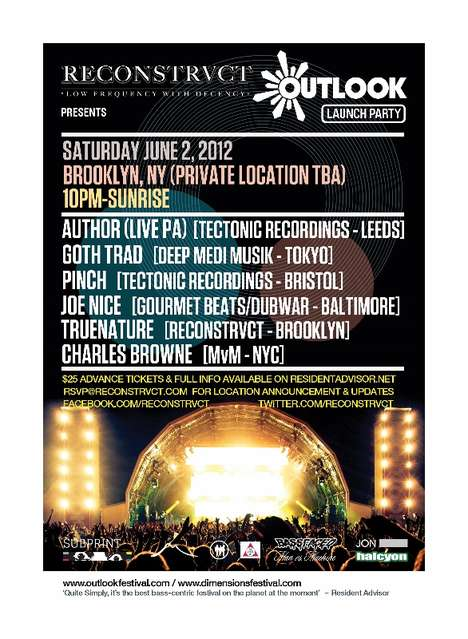 dubstep new york outlook festival launch party