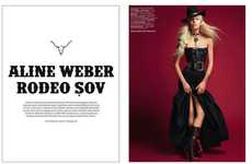 Bohemian Cowgirl Editorials