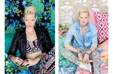 Vibrant Punk Fashion - The Nasty Gal Lookbook Stars Model Hannah Holman