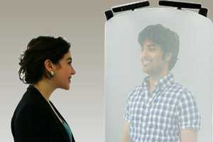 The Queen's University TeleHuman Telepod Creates 3D Interaction