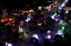 Miniature Disney Light Shows