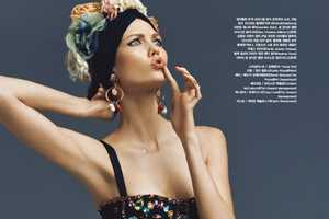 The Vogue March 2012 Karlie Kloss Photoshoot is Oddly Ecclectic