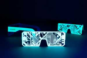 The Phosphorescent Accessories by Murmure Combine Cyberpunk with Contemporary