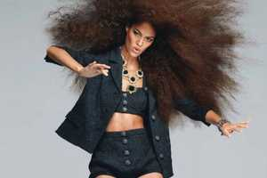 The Joan Smalls Vogue US May 2012 Photoshoot is Oversized